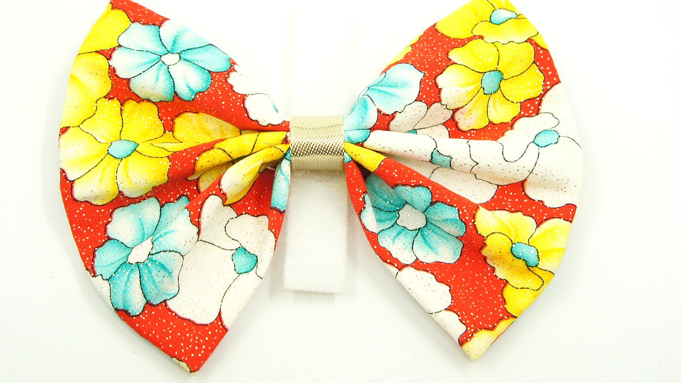 Red Rosemallows Bowtie