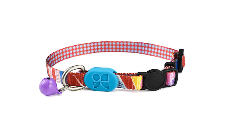 Profusion Cat Collar - Mountain Stamp XS