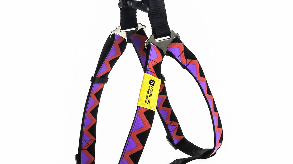 Rainbow Y-Harness - Black