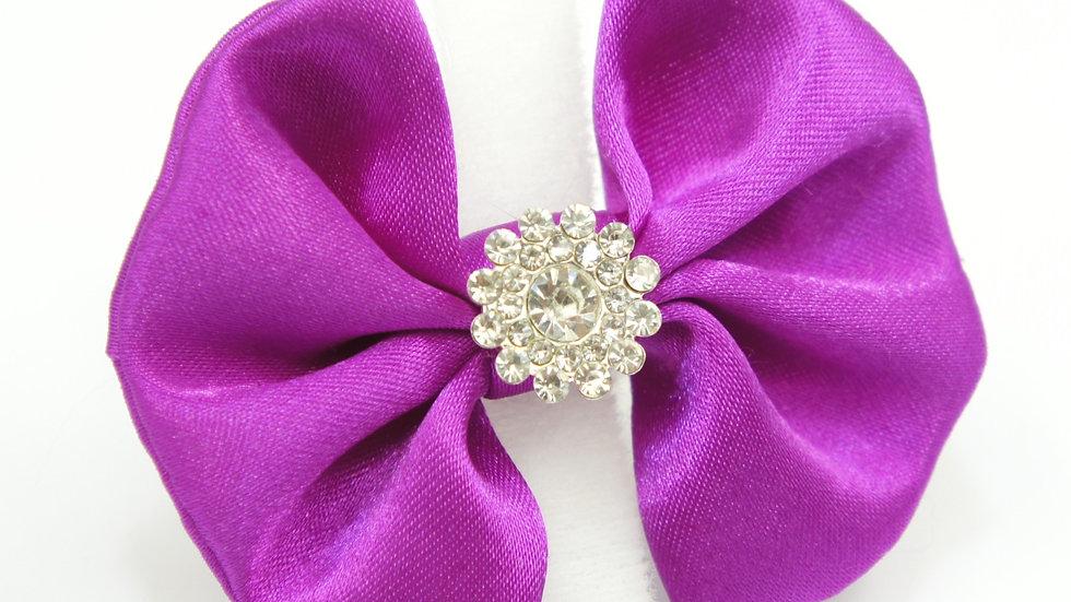 Elegant Purple Bowtie