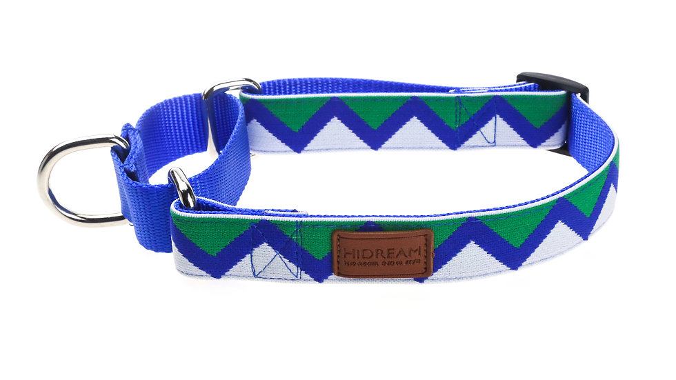 Rainbow Buffering Collar - Blue