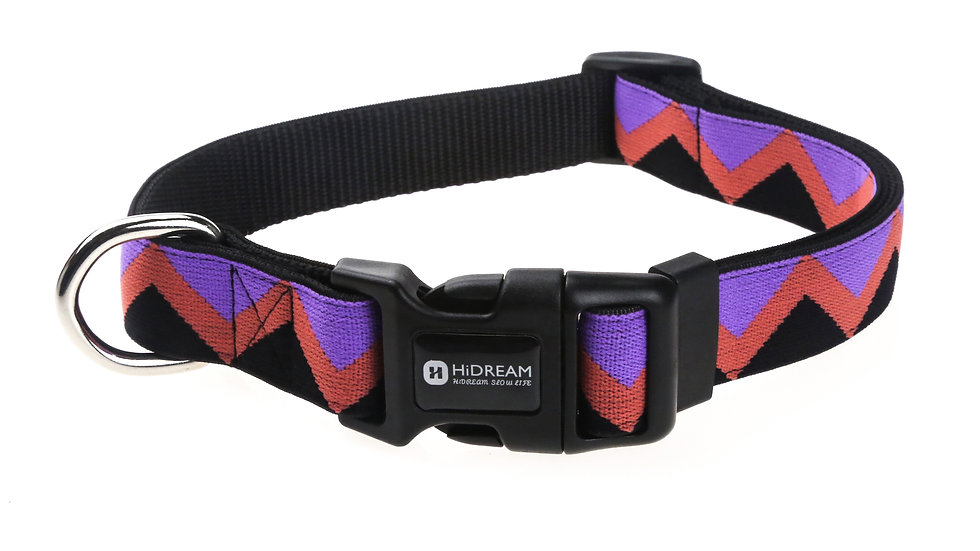 Rainbow Collar - Black