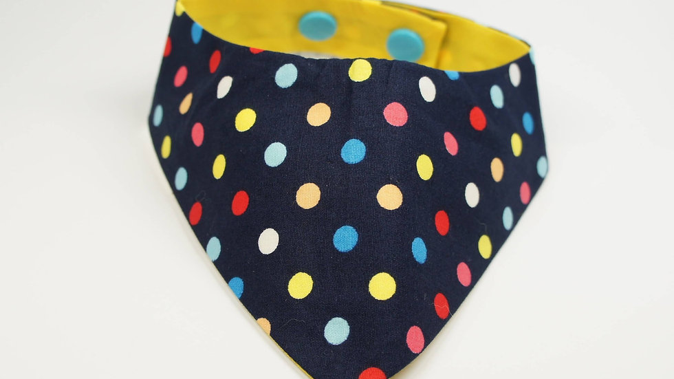 Black Colorful Dots Single