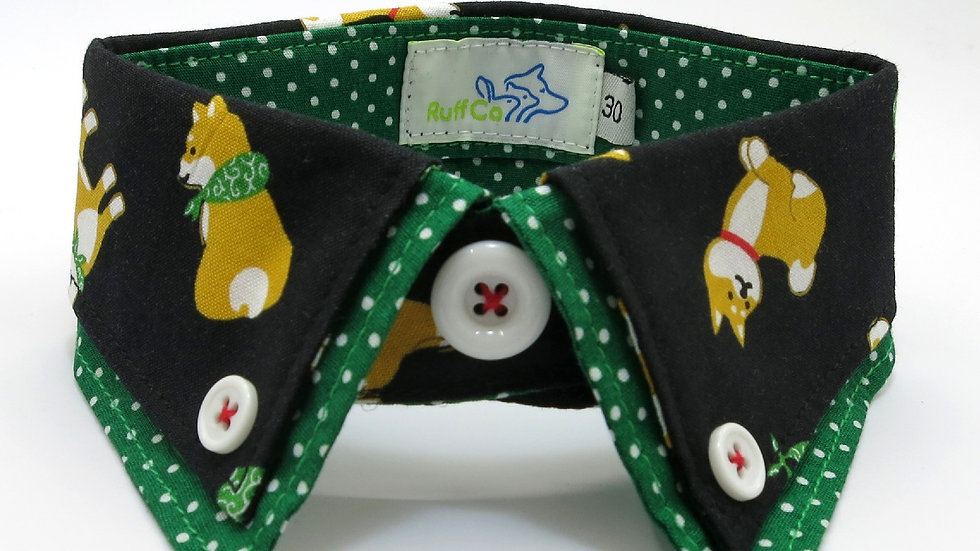 Black Shiba Green Double
