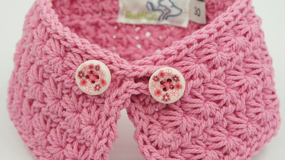 Pink Knitted Collar