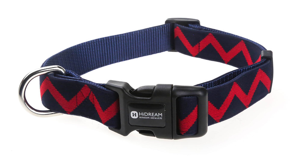 Rainbow Collar - Navy Blue