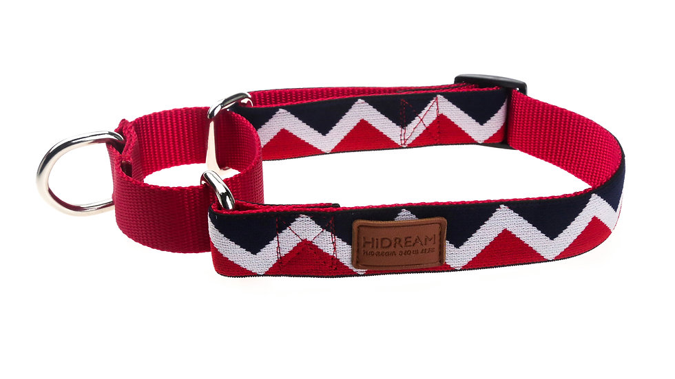 Rainbow Buffering Collar - Red