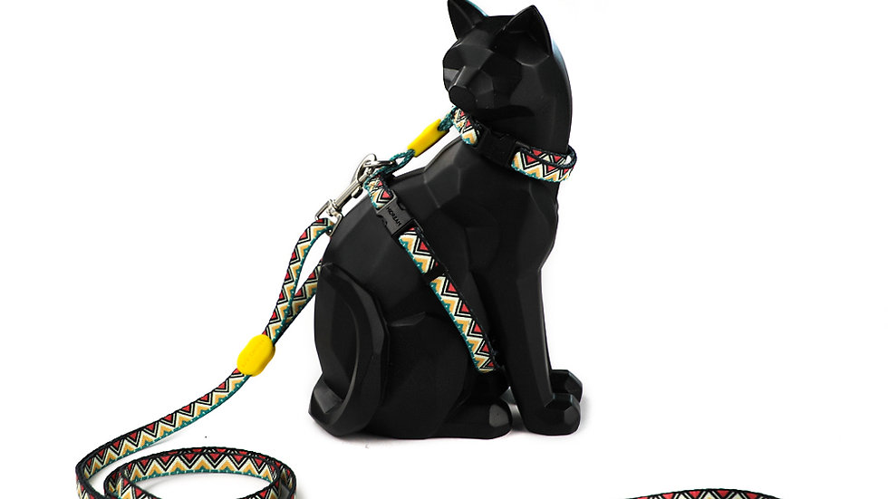 Profusion Cat Harness & Leash Set - Totem