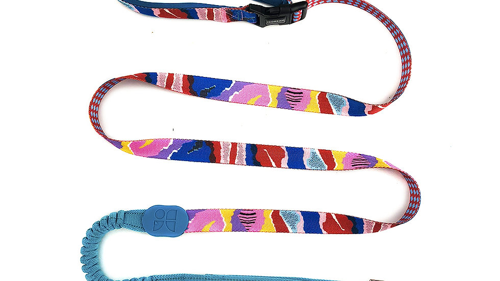 Profusion Bungee Leash - Mountain Stamp