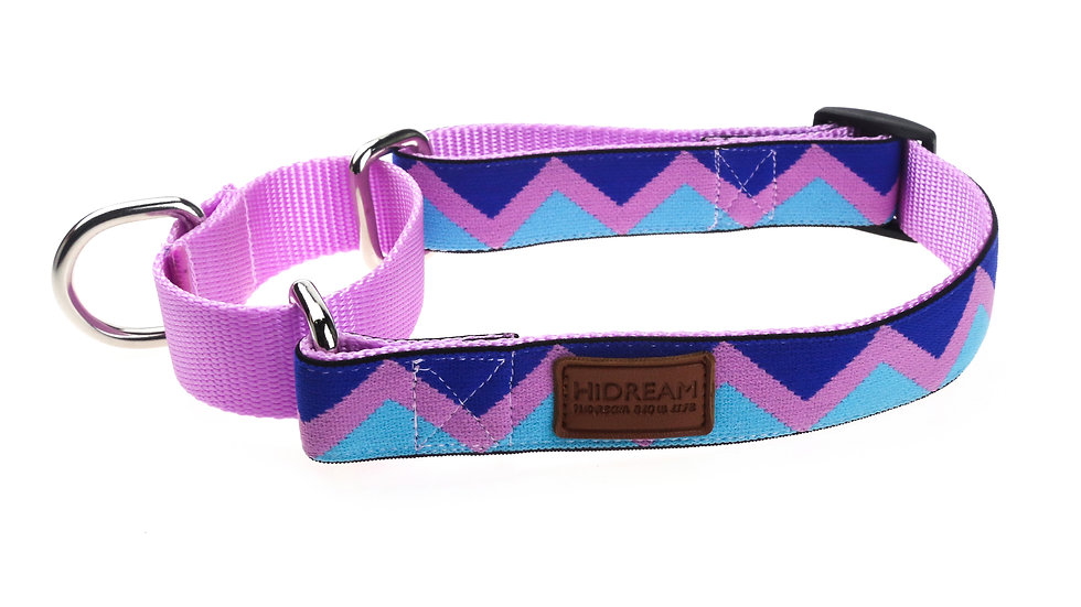 Rainbow Buffering Collar - Pink