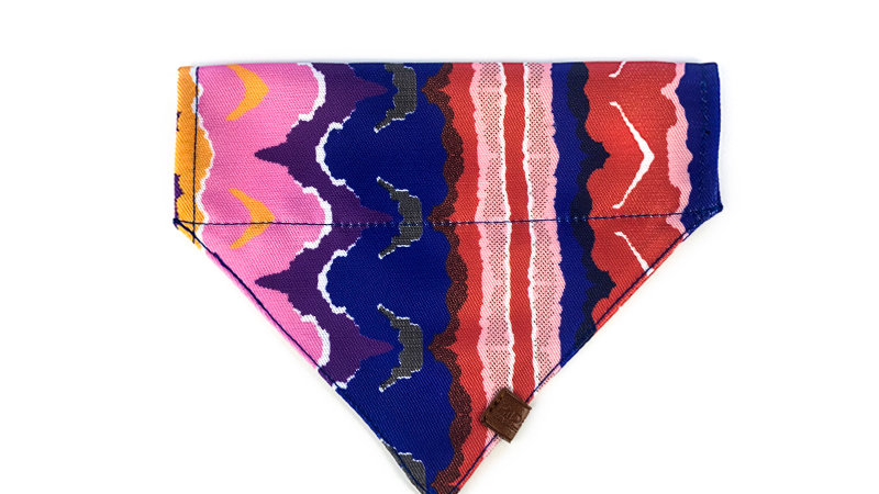 Profusion Cat Bandana - Mountain Stamp