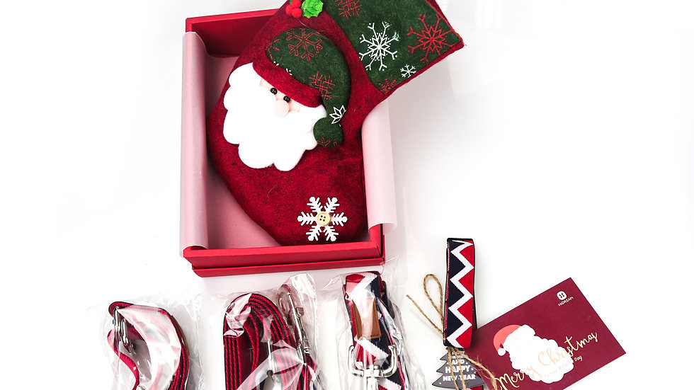 Classic Rainbox Xmas Set - Red