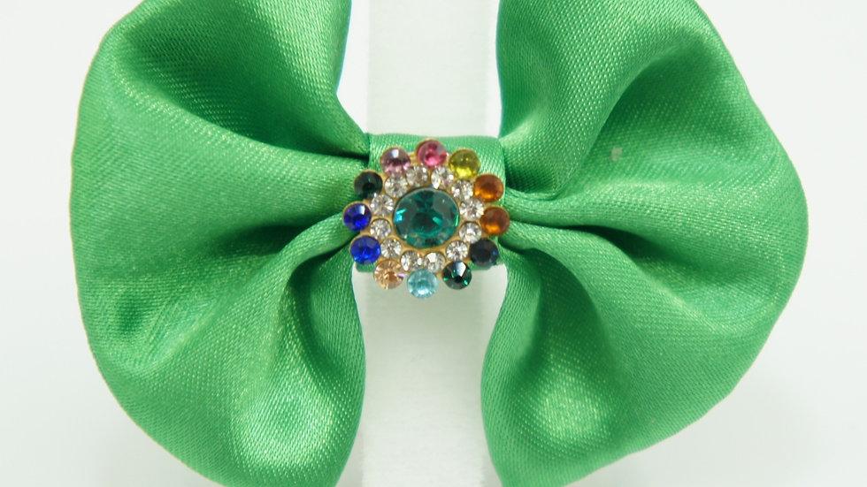 Elegant Green Bowtie