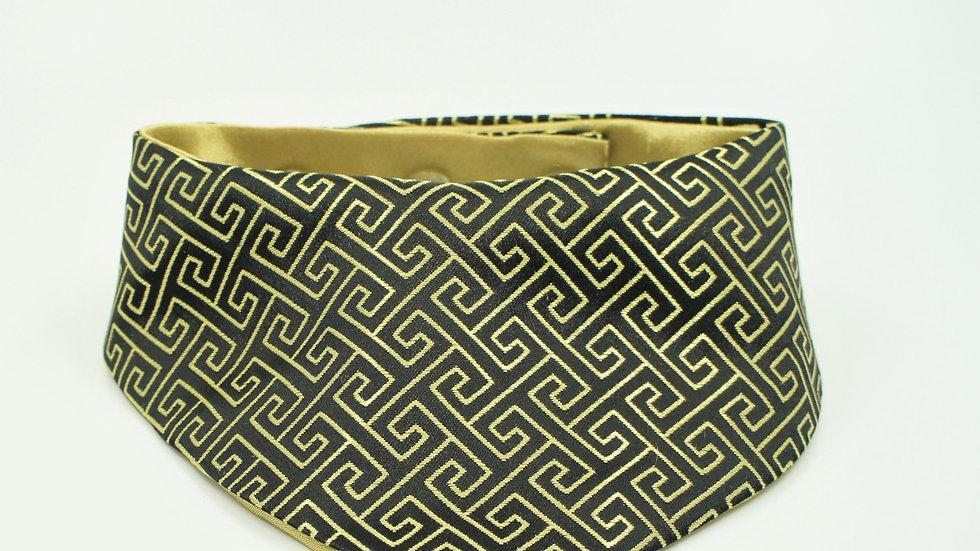 CNY Black Golden Pattern Single