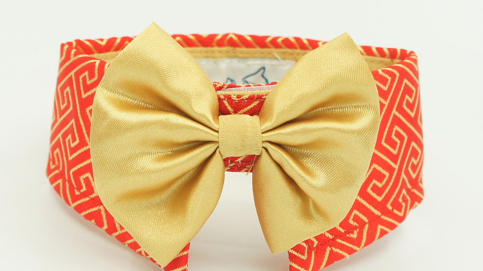 CNY Red Golden Patterns