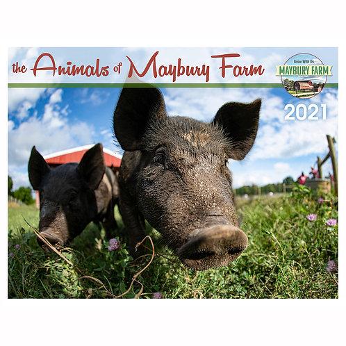 Animals of Maybury Farm 2021 Calendar