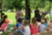 story time volunteer at maybury farm in northville, mi