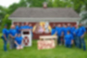 Ford Volunteer Corps help at Maybury Farm in Northville, MI