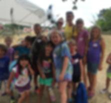 Kids have fun at Summer Day Camp at Maybury Farm