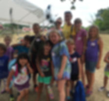 Kids have fun at Summer Day Camp at Maybury Farm