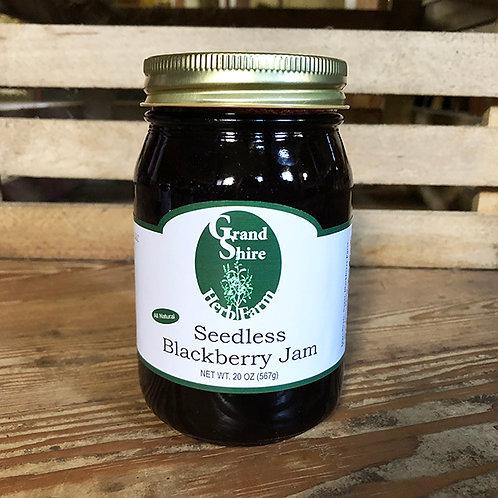 Grand Shire's Seedless Blackberry Jam