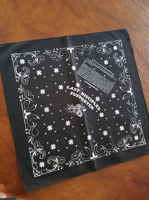 Polyester Support Bandanna