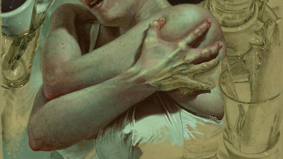 AMPLEXUM 2, 2020. (detail) Edward Povey