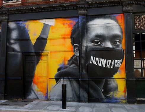 08 - Racism Is A Virus - London UK - 202