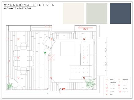 Wandering Interiors; Highgate Apartment