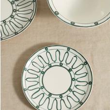 Themis Z - Kyma porcelain dessert plate