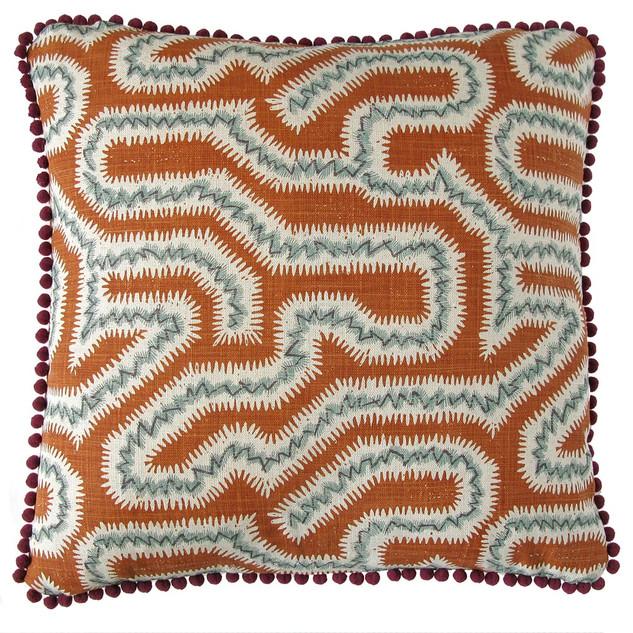 Moorish Maze: Burnt Orange