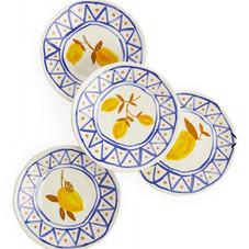&klevering Lemon Plates, Set of 4