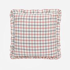 MAYFAIR PLAID – Red Pillow