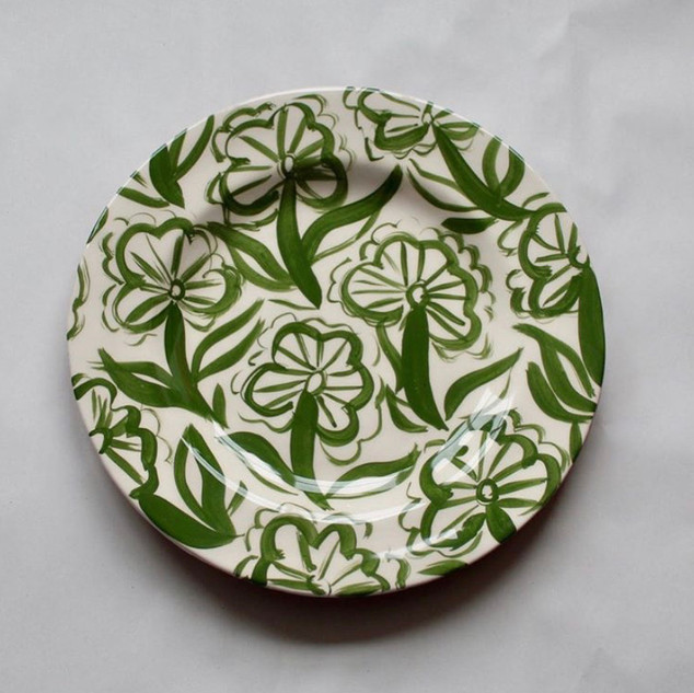 Rachel Cocker plate