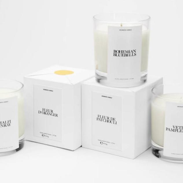 Jo Malone x Zara Home candles