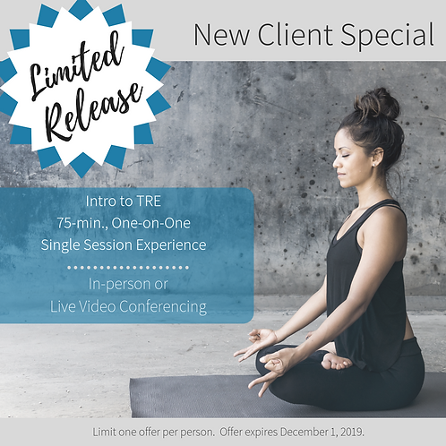New Client Special: 75-min. Intro to TRE