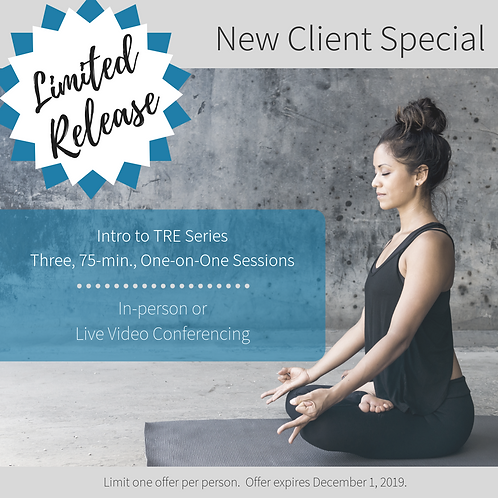 New Client 3-Series Special: Intro to TRE
