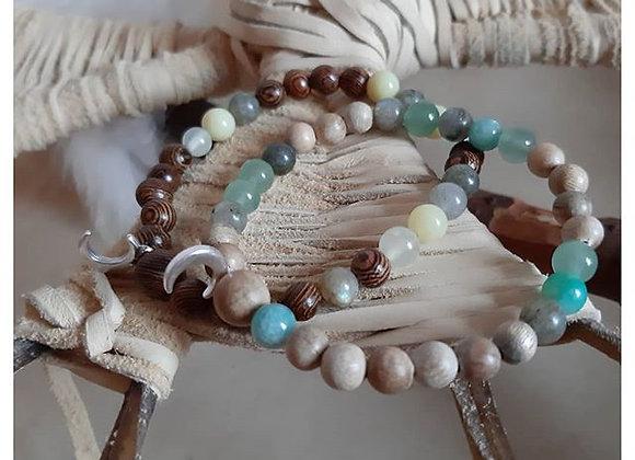 Bracelets malas trio
