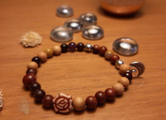 """Bracelet """" Gardienne des sables"""" : Rose des sables"""