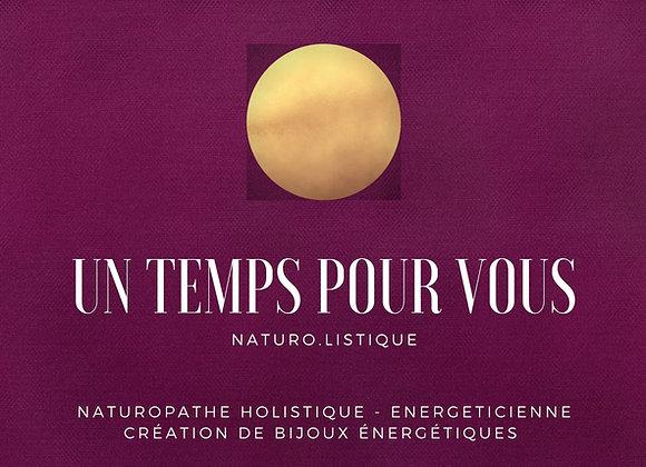 Bon Cadeau bilan de vitalité en  naturopathie