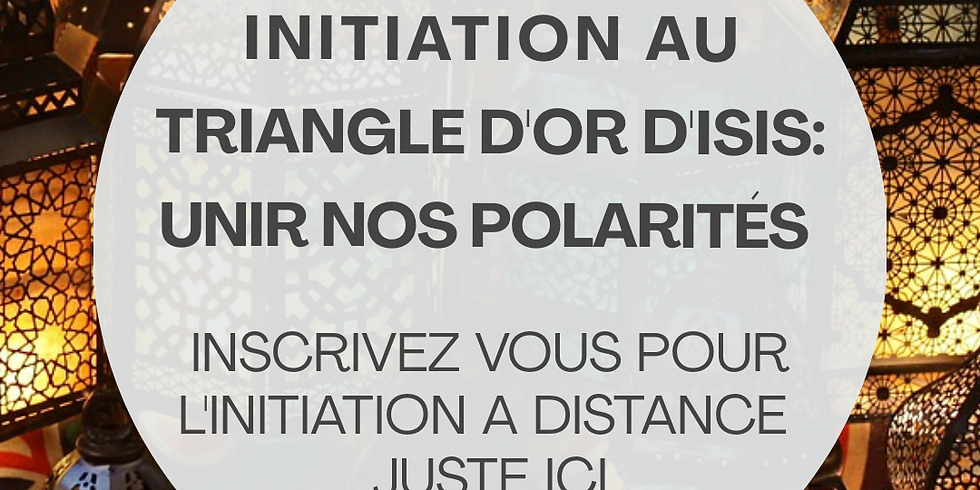 Initiation a distance Triangle d'Or