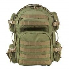 VISM® by NcSTAR® TACTICAL BACKPACK/OD GREEN WITH TAN TRIM
