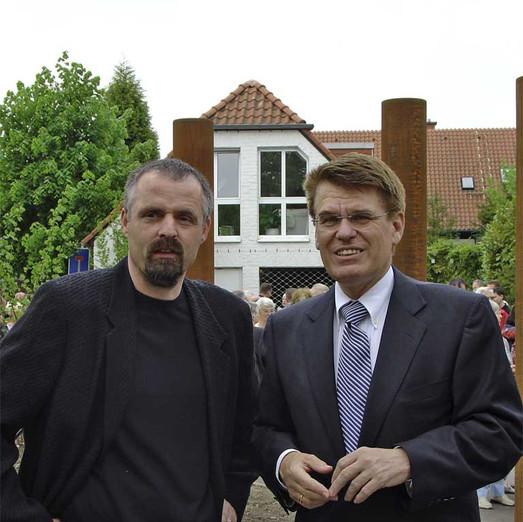 Künstler und Oberbürgermeister Erwin
