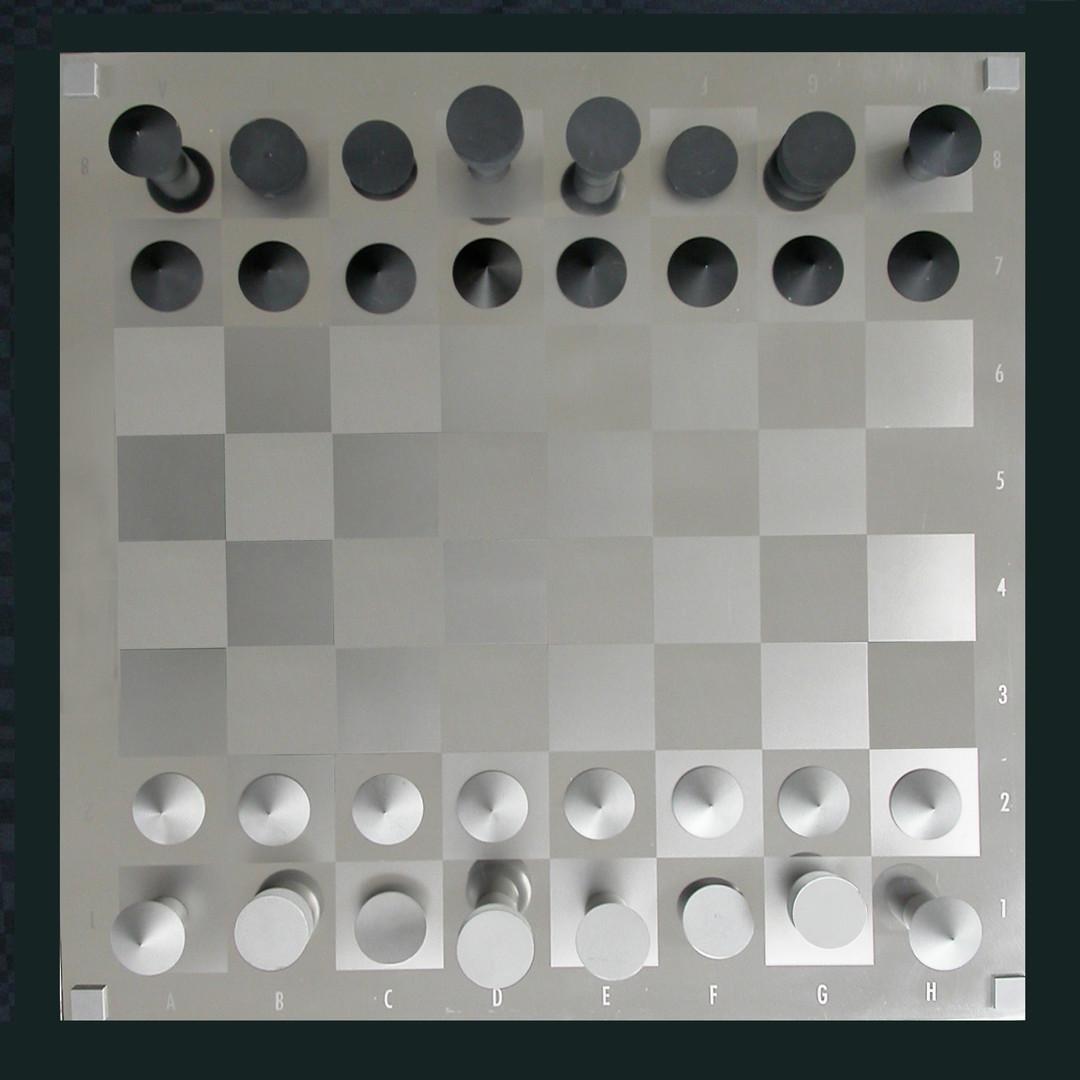 Schachspiel Draufsicht