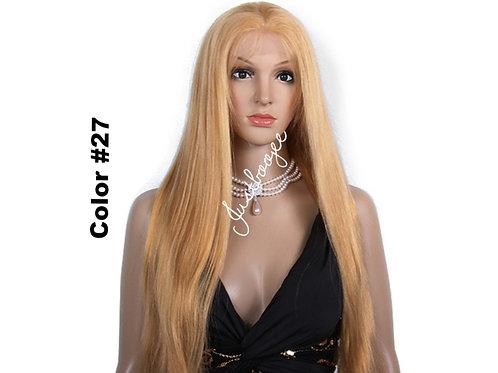 Color Front Lace Wigs - 27