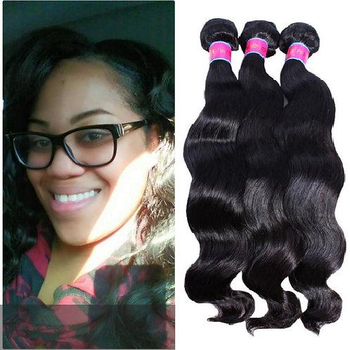 Three Bundle deal  - Body Wave Hair -100% Human hair