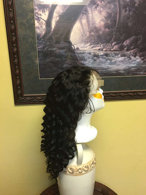 Front Lace Wigs - Deep Wave