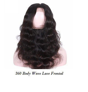 360 Lace Frontal 100% Virgin Human hair