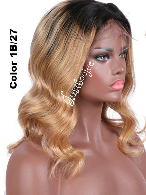 Color Front Lace Wigs -1B/27