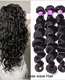 Brazilian Loose Wave -  Remy Virgin Hair